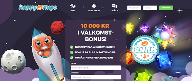 Magiska måndagar hos Happy Hugo - casino752 blog