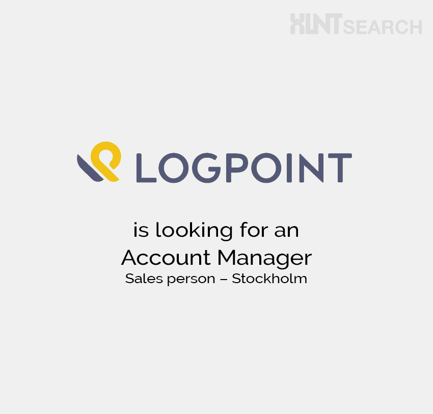 LogPoint is looking for an Account Manager – Stockholm