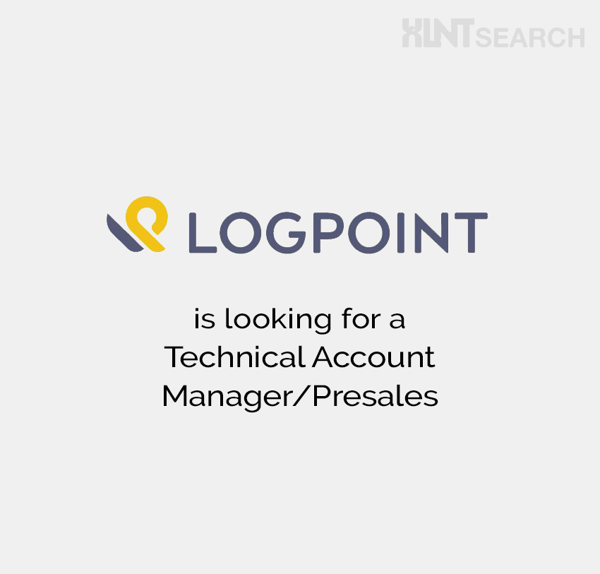 LogPoint is looking for a Technical Account Manager/Presales