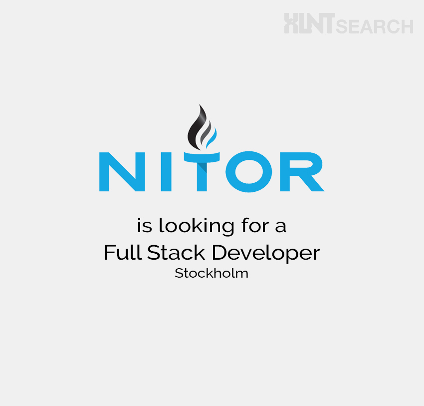 Nitor is looking for a Full Stack Developer – Stockholm