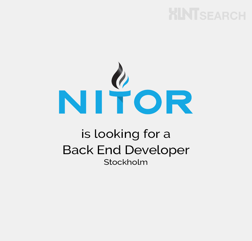 Nitor is looking for a Back End Developer