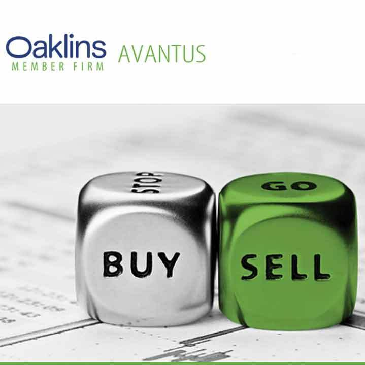 Web Design – Web Site for Oaklins Avantus