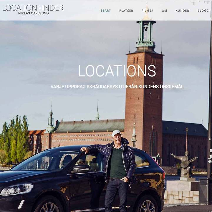 Web Design  – Locationfinder.se